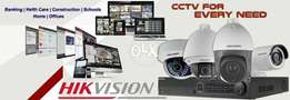 Cctv HD 1MP 4-Cameras Complete Package