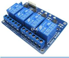 5v 4 Channel Relay Module for Arduino Resberry Pie PLC and Automation