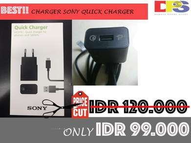 BEST PRICE!! CHARGER SONY Quick Charge Garansi 1 Bulan