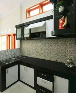 kitchen set minimalis 50 warna
