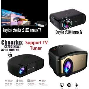 Projector proyektor + tv tuner