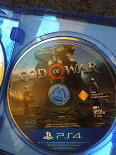 Bd ps 4 god of war