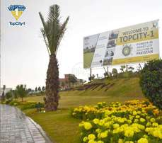 Top City -1 || University Town || Commercial Plots on Installment
