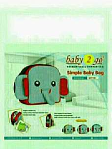 Simple Baby Bag 2 Go Animal Series