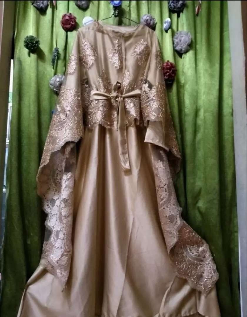 Gamis Brokat Busui Fashion Wanita 817342467
