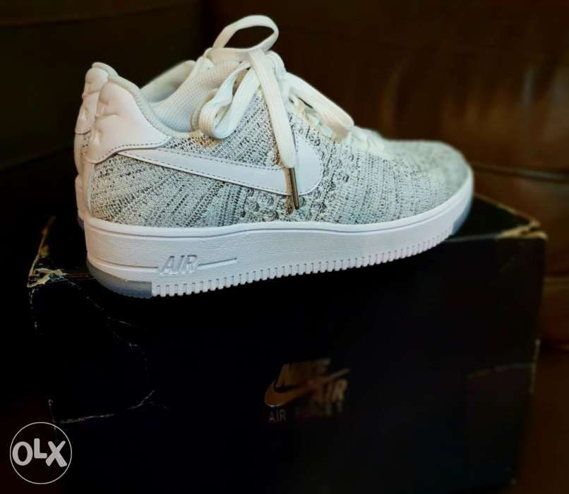 Brand New 100% Original Nike Air Force 1 Flyknit Classic White Rush ... 92892a3f6