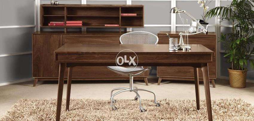 Need Contractor For Home Walnut Office Wood Furniture Polish Service