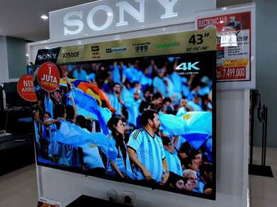 TV SONY 43inch Android TV KREDIT via Home Credit 3 Menit Angkut!