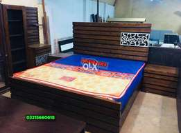 The Bed with dressing Ready stock - khawaja's Fix price
