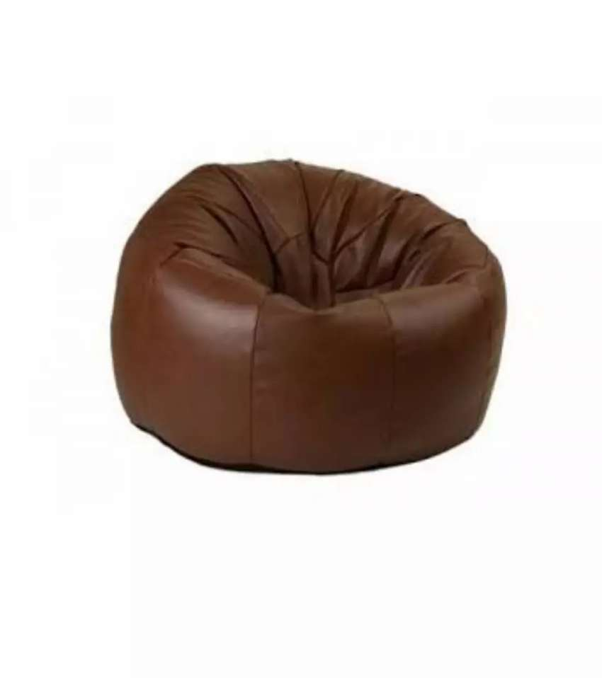 Incredible Leather Bean Bag Xl Gmtry Best Dining Table And Chair Ideas Images Gmtryco