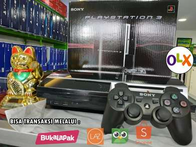Ready PS3 Fat Kualitas Ori Japan hdd 500GB Bebas Request Game