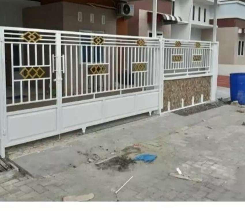 Pintu Pagar Dan Terslis Rumah Aman Tanpa Henti Dekorasi Rumah 804333855