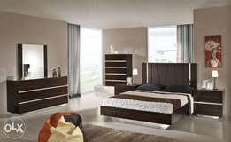 Center padding and gloss bed set