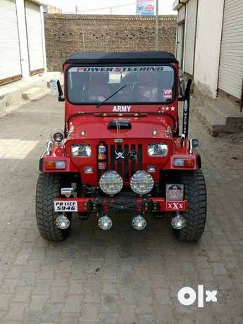 Open modified jeeps all India home delivery in