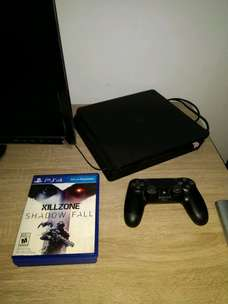Jual PS4 slim 500GB second
