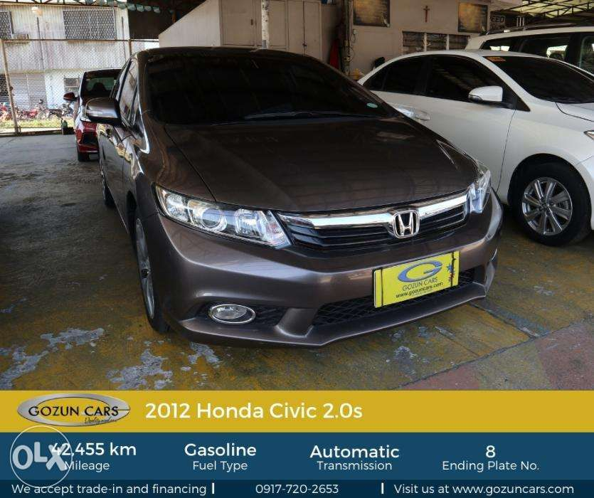 2012 Honda Civic 20s For Sale Philippines Find 2nd Hand Used