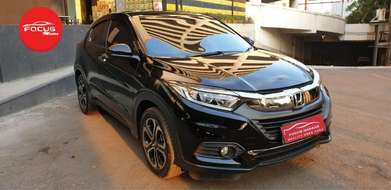 Honda HRV E Cvt AT 2018 Hitam Facelift TV Floating Record Tgn.1