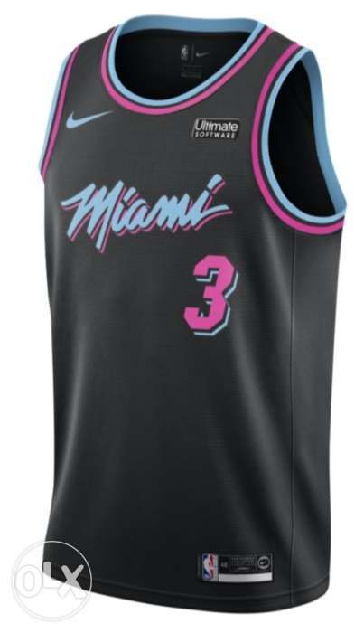 abc92959706 Dwyane Wade Nike Miami HEAT Vice Nights Swingman Jersey in Quezon ...