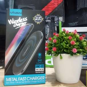 Charger WIFI Vivan Wireless Charger VWC-02 | By Astikom