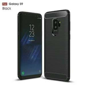 Case Ipaky Samsung Galaxy S9 Carbon Softshell Case - FT1638H
