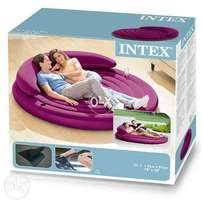 Intex daybed with convertible backrest