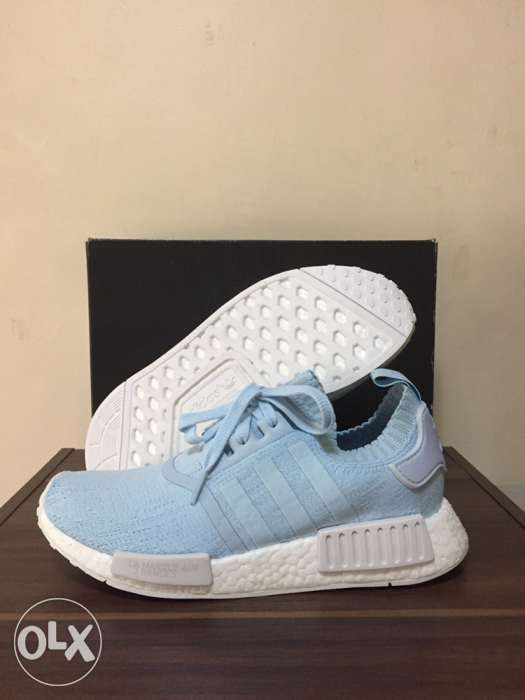 d0396f34d13e4 BNDS Adidas Originals BY8763 NMD R1 PK France Ice Blue Womens in ...