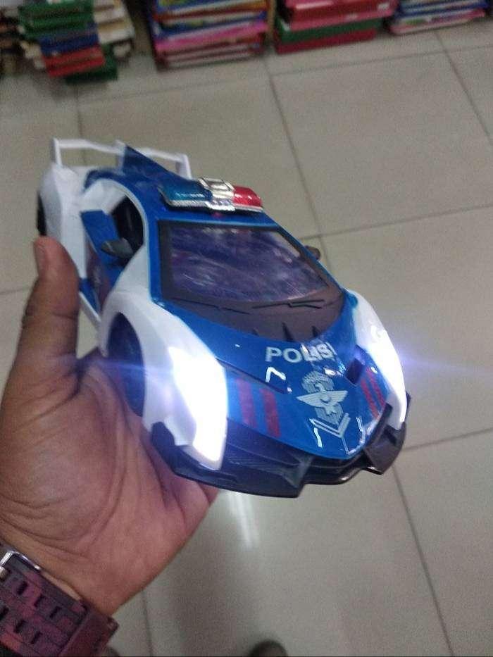 Mainan Anak Mobil Mobilan Polisi Bisa Bersuara Dan Bergerak Boneka Mainan Anak 756733585