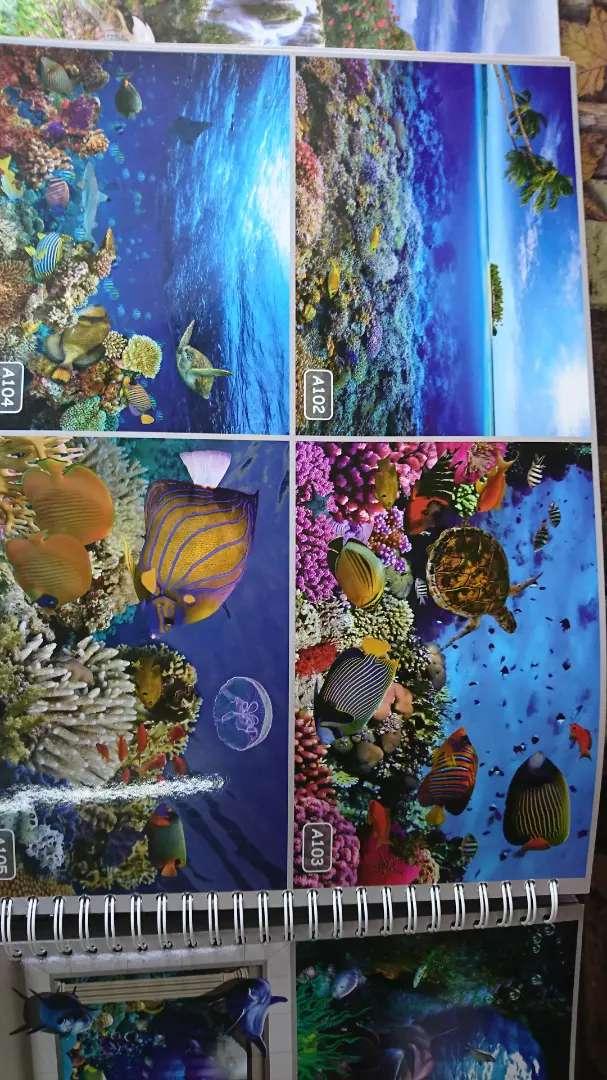 Wallpaper Dinding 3d Bawah Laut Dekorasi Rumah 755537006