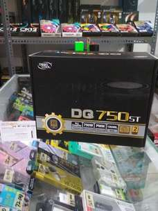 Power Supply PSU Deepcool DQ750ST 750W 80+ Gold Flat Cable By Astikom