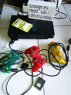 ps2 fat seken Flash disk 16 gb Baru