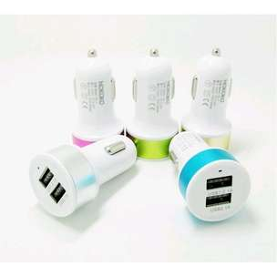 Adaptor Charger Mobil / Saver Car Charger 2in1