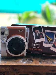 Kamera Fujifilm Instax Mini Neo 90 mulus like new!