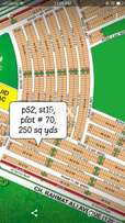 P52, st 19, plot # 70 for sale minus 1 lac