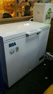 rsa 220L frizer chest freezer daging pembeku lemari es ikan beku box