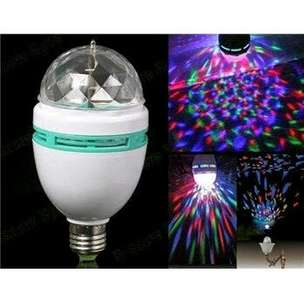Lampu LED Disco Rotating Full colour