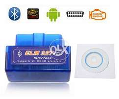 Obd2 Car Scanner Mini blue OBD2 manual Elm327