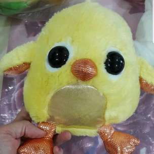 boneka little chick glitter