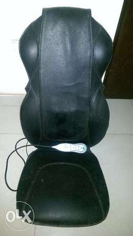 HoMedics Shiatsu Heated deluxe Back & Shoulder Massage Chair Cushion