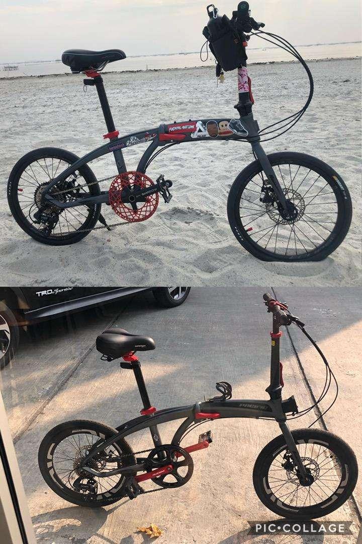 Sepeda Lipat Pacific Noris 2 1 20 406 Grey Modif Sepeda Aksesoris 810908543