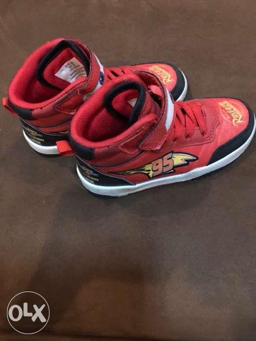 0bd1f05d5828 ORIGINAL HandM Lightning McQueen high-cut rubber shoes in Manila ...