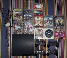 Sony Ps3 320Gb Came From Abroad with 4 Controllers and 11 Games