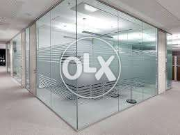 Glass Paper for office glass in blur your glass , geometrical designs