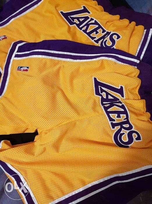 d8276c382da SALE Lakers shorts Lebron kobe not nike adidas in Quezon City