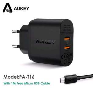 Aukey 2 port fast charging