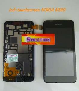 lcd+touchscreen+frame Nokia N530 #SOLUTION