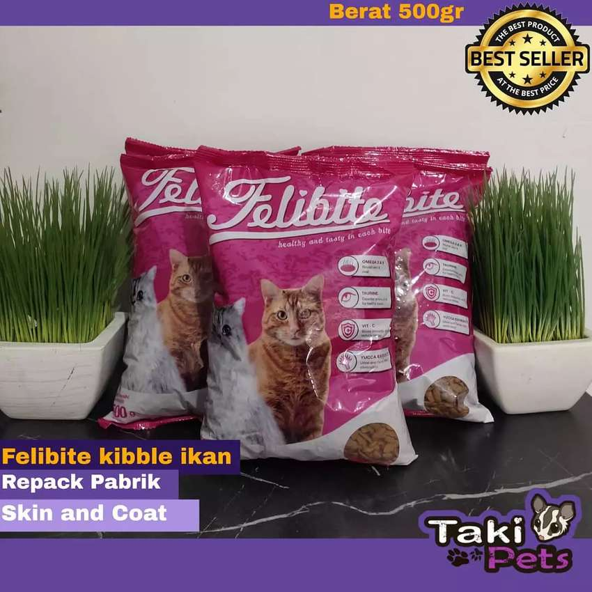 Makanan Kucing Felibite 500gr Hewan Peliharaan 794122993