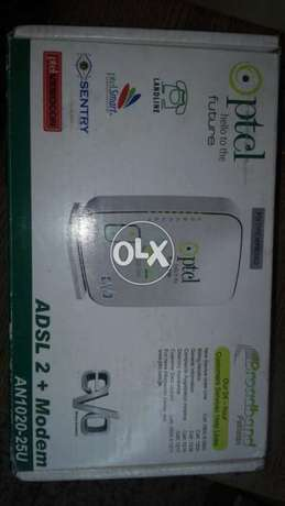 ptcl adsl 2 + modem evo wireless broadband