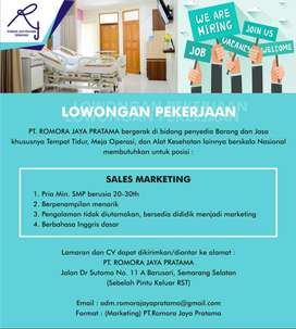 Sales Cari Lowongan Terbaru Di Semarang Kota Olx Co Id