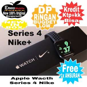 Cash Bisa Kredit Apple Watch Series 4 Nike+ GPS [40 mm] New Original