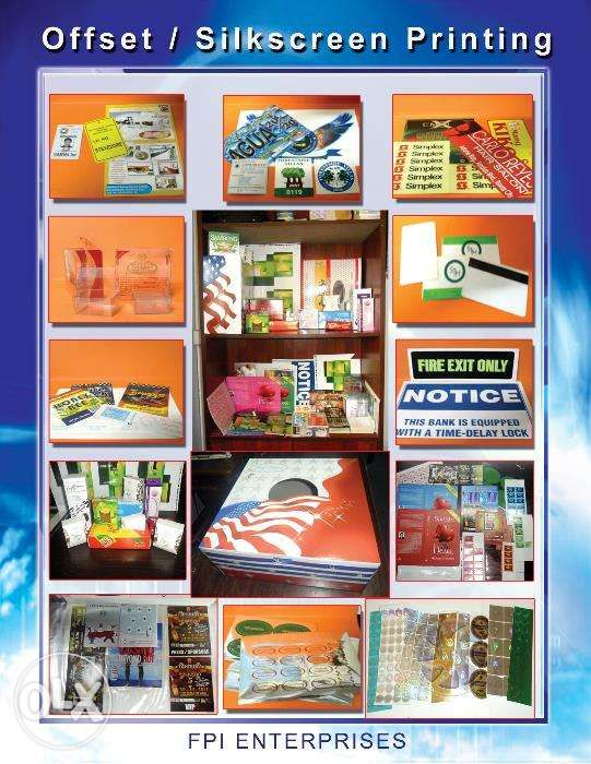 Offset Printing Brochure Flyers Packaging Box Paper Bag Letterhead